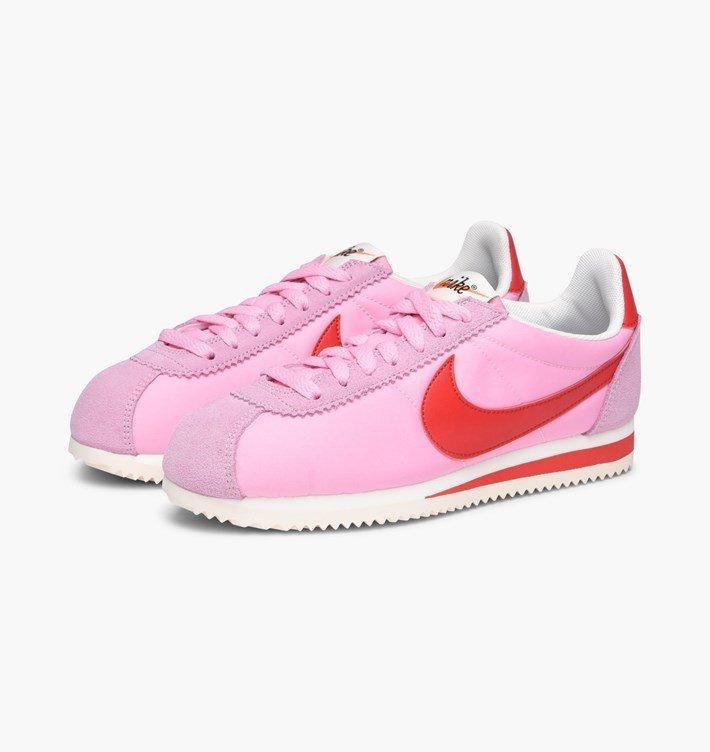2b2b0d016024ab670846ee7ed07d4457 - Nike Wmns Classic Cortez Nylon Red Sail 女子 網面 882258-601