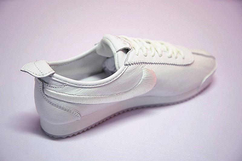 2c338a57c094363a4a83831a77e6bd5c - Nike Cortez 阿甘 全白 皮 情侶鞋 881205-100