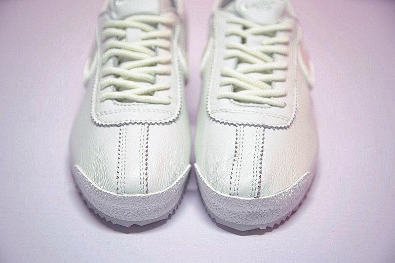 2ece43dd6db24d47d1e8e07ab87b2ec5 - Nike Cortez 阿甘 全白 皮 情侶鞋 881205-100