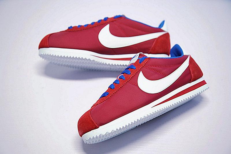 3202880f038a375912f71b00b36580ab - 情侶鞋 Nike Classic Cortez 經典 復古 阿甘 酒紅白 寶藍488291-615
