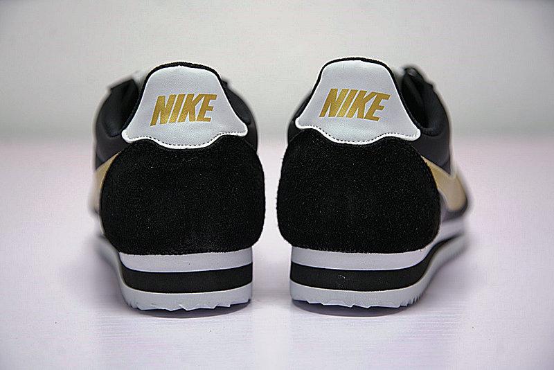 3615d73d4295ac189b19994c66be198b - 男鞋 Nike Classic Cortez 阿甘 百搭 慢跑鞋  黑白金 807471-012