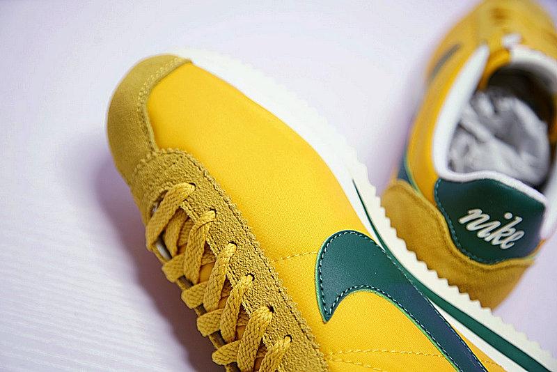 3e0fc2bc2caeb51ad2f2df924c0ef8de - 情侶鞋 Nike Classic Cortez 阿甘 百搭 黃綠 876873-700