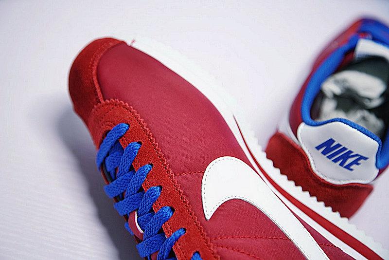 4e1f0e4ddadc0f7be39134712473fd10 - 情侶鞋 Nike Classic Cortez 經典 復古 阿甘 酒紅白 寶藍488291-615