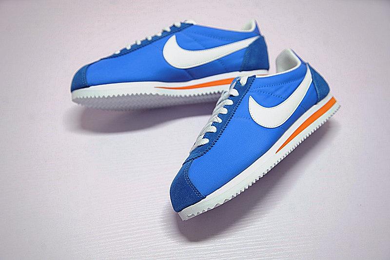 4fedfaaff31590a2357c4e2dbcf0008d - 情侶鞋 Nike Classic Cortez 經典 復古 藍白 桔紅 488291-404-