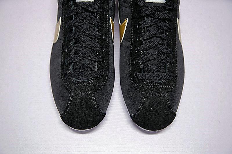 52ac0e64067a97e9bf3c350084e90977 - 男鞋 Nike Classic Cortez 阿甘 百搭 慢跑鞋  黑白金 807471-012