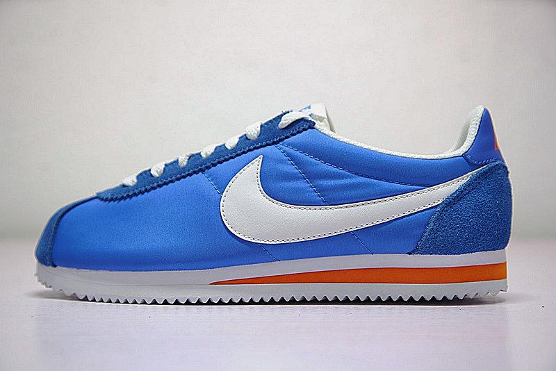 65db7ba95681f0bdc3551d228e89c302 - 情侶鞋 Nike Classic Cortez 經典 復古 藍白 桔紅 488291-404-