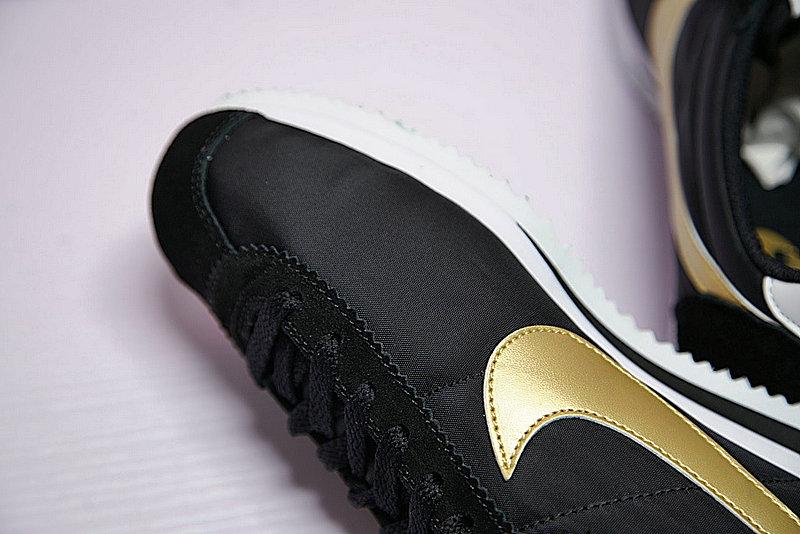 81c16ef4e5bf867512be72e70cb1ecda - 男鞋 Nike Classic Cortez 阿甘 百搭 慢跑鞋  黑白金 807471-012