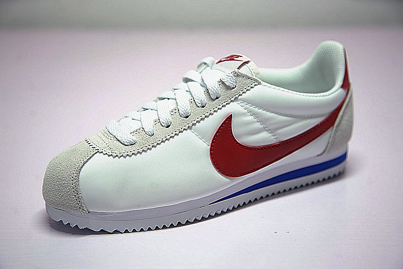 8768b400f0ce9f7424e8d1e647a69b0e - Nike Classic Cortez  阿甘 百搭  白灰 藍紅 354698-161