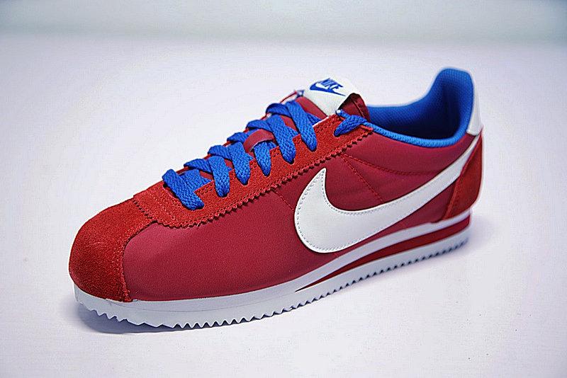 8f5d9c7c696ba227c272bc30f12ca414 - 情侶鞋 Nike Classic Cortez 經典 復古 阿甘 酒紅白 寶藍488291-615
