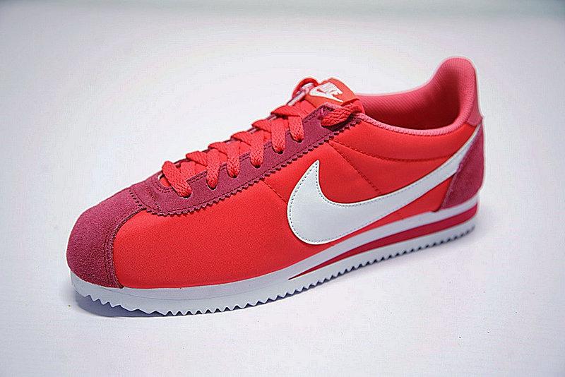 939563ffdc8fbfb8bff57c96243c7ab4 - 情侶鞋 Nike Classic Cortez 阿甘 玫紅白 488291-603