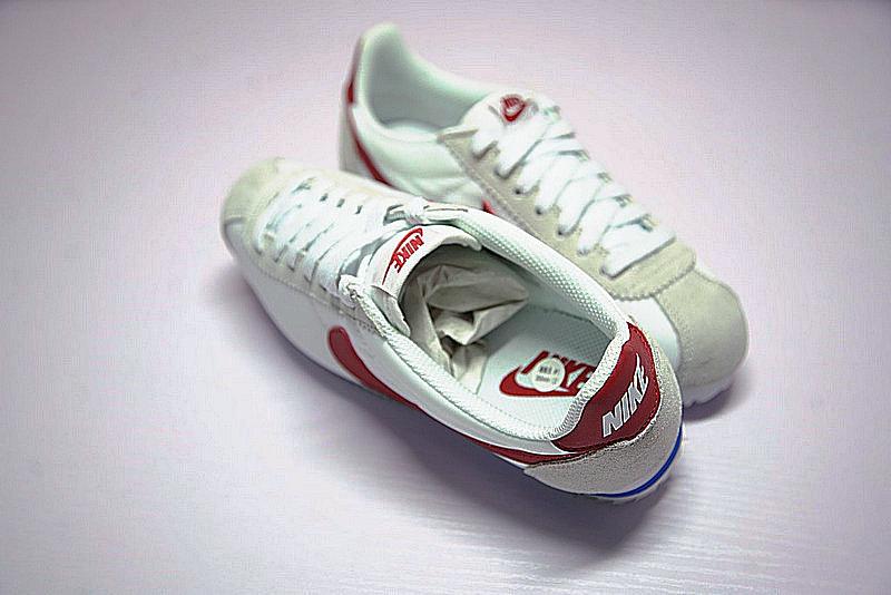 ac21fed1b0564c07262bf0a08ef3a9b9 - Nike Classic Cortez  阿甘 百搭  白灰 藍紅 354698-161