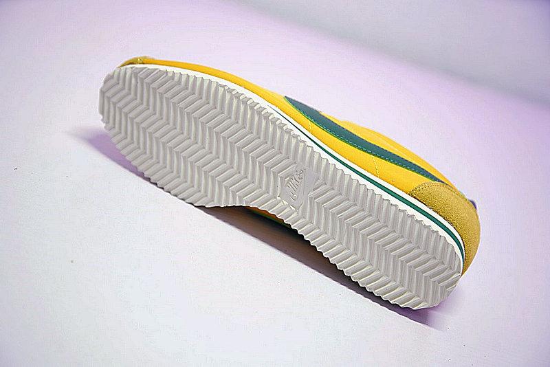 b3b5cc9e1d3a1c51d6a5842413e0f76b - 情侶鞋 Nike Classic Cortez 阿甘 百搭 黃綠 876873-700