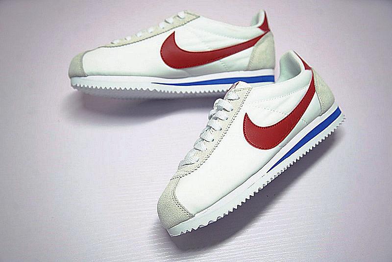 b7ebfdd8b228706871badaf4262a6af2 - Nike Classic Cortez  阿甘 百搭  白灰 藍紅 354698-161