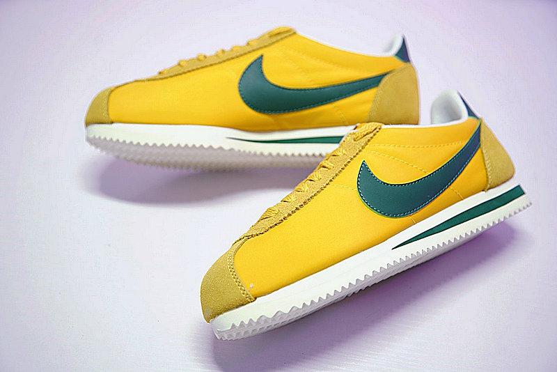 cac8a45e07cb311b56b240bd857d3097 - 情侶鞋 Nike Classic Cortez 阿甘 百搭 黃綠 876873-700