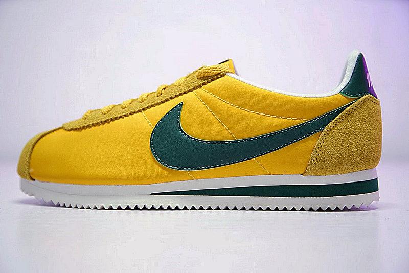 cf458886dc36ad413938a1cc2c06bb42 - 情侶鞋 Nike Classic Cortez 阿甘 百搭 黃綠 876873-700