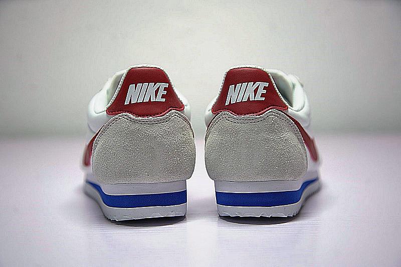 d99f60f4f7bcc2263e47fda560b6ca6c - Nike Classic Cortez  阿甘 百搭  白灰 藍紅 354698-161