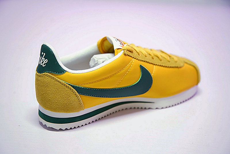 e787e15d5a1c35b7eb47dac42a60258e - 情侶鞋 Nike Classic Cortez 阿甘 百搭 黃綠 876873-700