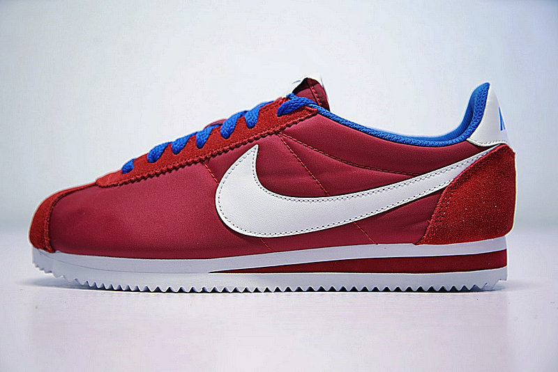 ef8ddab9d2f0b0cdd34e6a15d2770fbc - 情侶鞋 Nike Classic Cortez 經典 復古 阿甘 酒紅白 寶藍488291-615