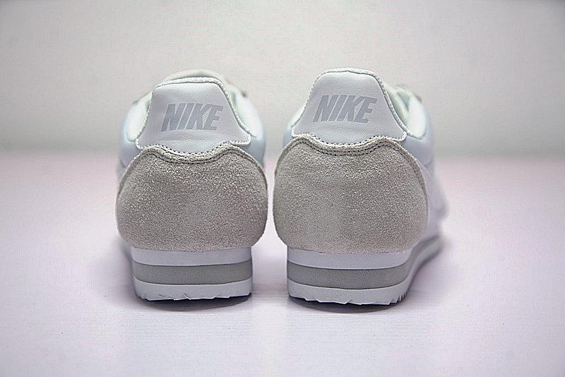 fa5f57377c9f7742ce2909c158ff163f - 情侶鞋 Nike Classic Cortez 經典復古阿甘百搭慢跑鞋牛津布銀灰白 749864-010