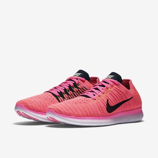 c709d4bc35351734cf4822ec8648373f - Nike Wmns Free RN Flyknit 粉紅 訓練 輕量化 女鞋 831070-600