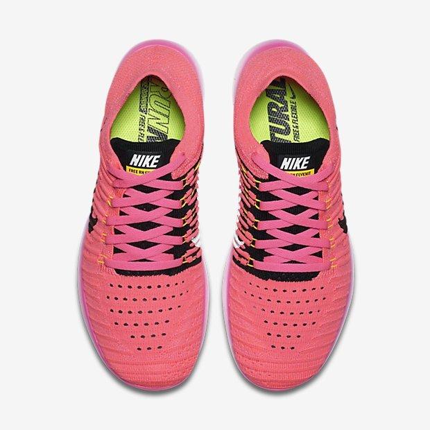 de195c7c41cc94bc465663007c0e3768 - Nike Wmns Free RN Flyknit 粉紅 訓練 輕量化 女鞋 831070-600