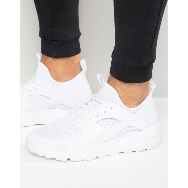 01b0e2c53a275faa611db2ea13757e4c - NIKE Huarache Ultra BR 白色武士鞋 網面 透氣 情侶鞋 819685-101