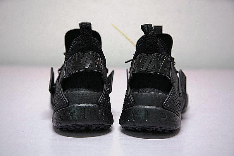 0219bd29f227b852a3f1103244fade85 - 男鞋 Nike Air Huarache Drift Prm 華萊士 漂移6代 復古花樣網面軍全黑 AH7334-003