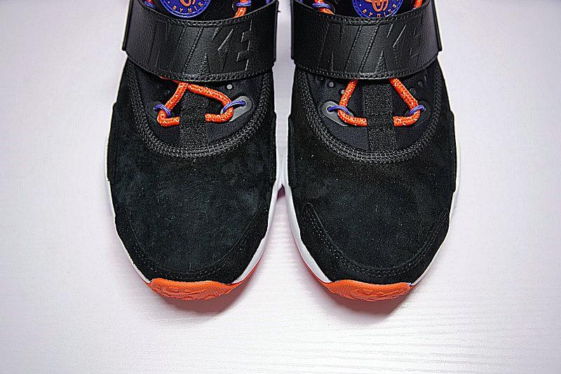04de311e3cf9fa5e8d079263f0accf4e - 情侶鞋 Nike Air Huarache Drift Prm 6代  黑藍 橘紅 AH7335-002