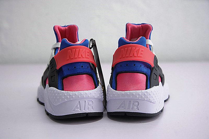 0c04fc36a78353074c209d1d5b7b00df - 情侶鞋 Nike Air Huarache Run OG初代華萊士復古慢跑鞋 OG白藍桃粉 AH8049-100-