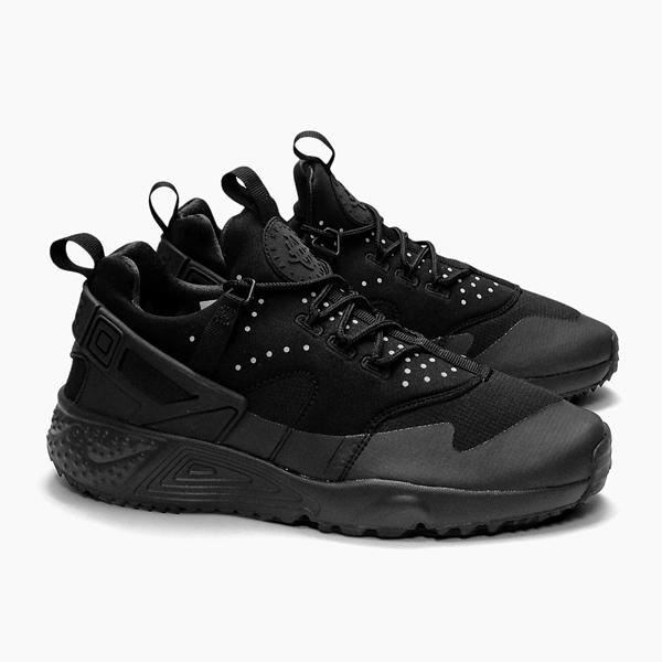 0eb3540a7c972f73c242beada5feac44 - NIKE AIR HUARACHE UTILITY 武士鞋 全黑 男鞋 806807-004