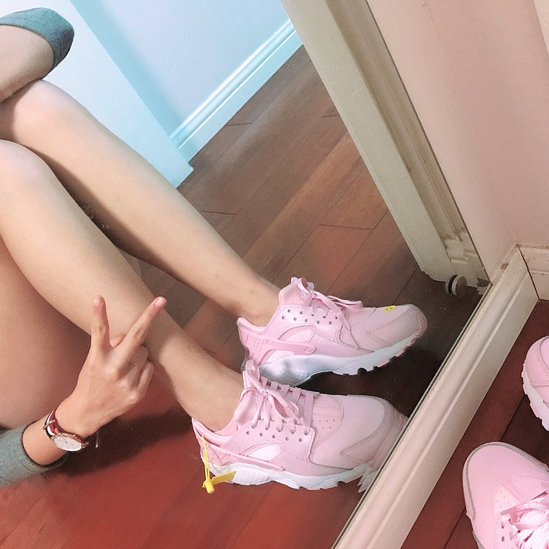 1493c17553ed472b25a05d0479d3281c - 女神鞋 Nike Air Huarache Run Premium 華萊士 復古 慢跑鞋 夢幻粉 904538-600