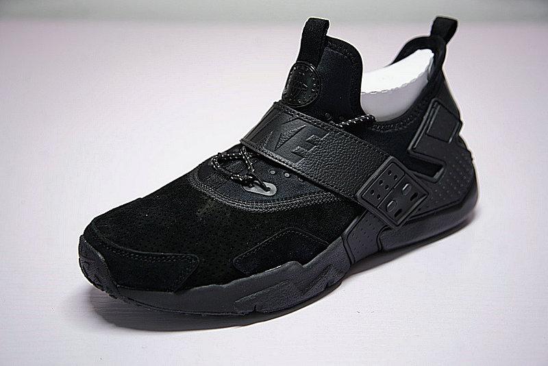 17c4cd36418cf280995966d3fa0c1621 - Nike Air Huarache Drift Prm 華萊士 6代 全黑 男鞋 AH7335-001
