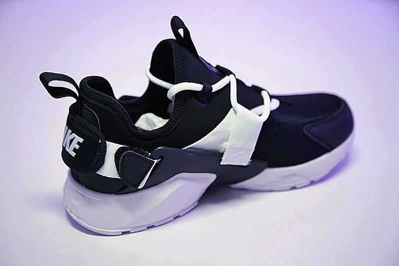 2710be52a35e2bf4653743924324487c - 情侶鞋 Nike Air Huarache City Low 機能 百搭 慢跑鞋 黑白 AH6804-002