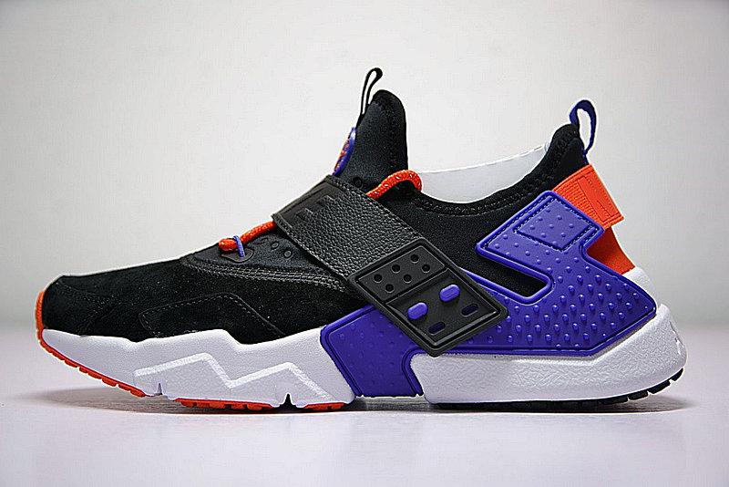 35148b29de2b34b548394ed5bc36ac7e - 情侶鞋 Nike Air Huarache Drift Prm 6代  黑藍 橘紅 AH7335-002