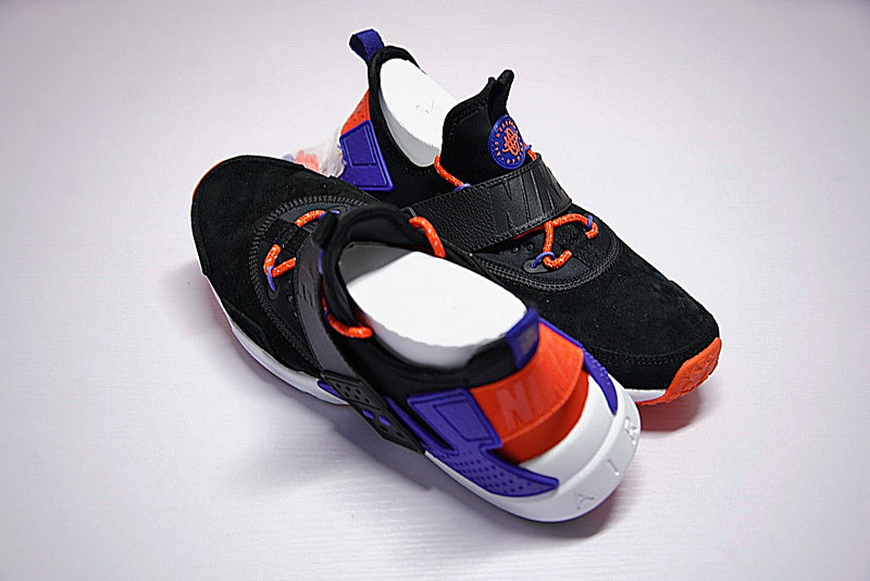 3d4736d60c57fd29ffab066d8ee21b3e - 情侶鞋 Nike Air Huarache Drift Prm 6代  黑藍 橘紅 AH7335-002