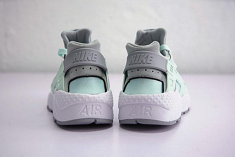 46437ee10d28ea0b66a66e0a72fcb2a5 - Nike Air Huarache Run Premium 華萊士 綠灰 女款