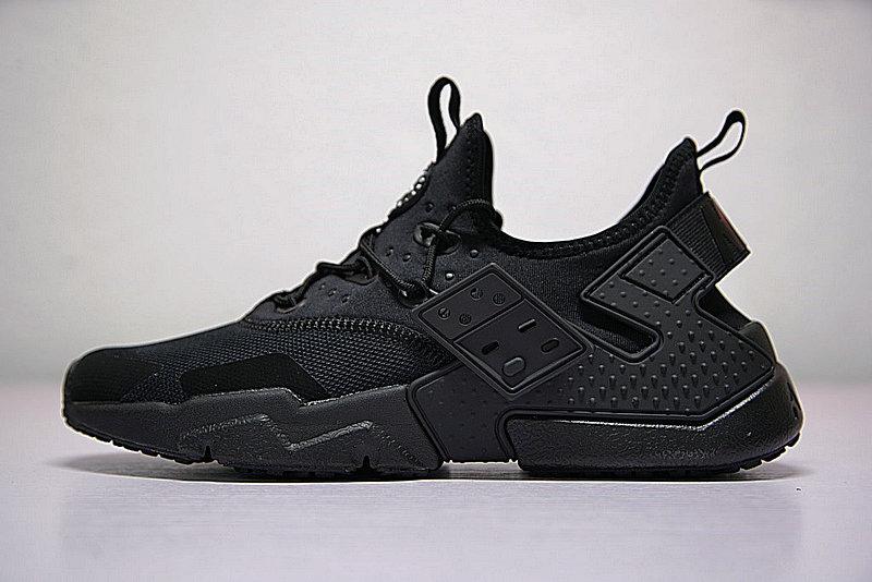 4d3fa02520679a1679525642d7576acd - 男鞋 Nike Air Huarache Drift Prm 華萊士 漂移6代 復古花樣網面軍全黑 AH7334-003