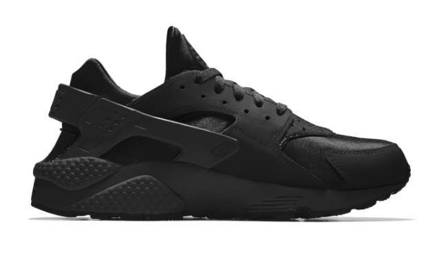 53224e77f43b1f89592b3a165b69e7fb - NIKE AIR HUARACHE RUN Triple Black 黑武士 運動鞋 黑魂