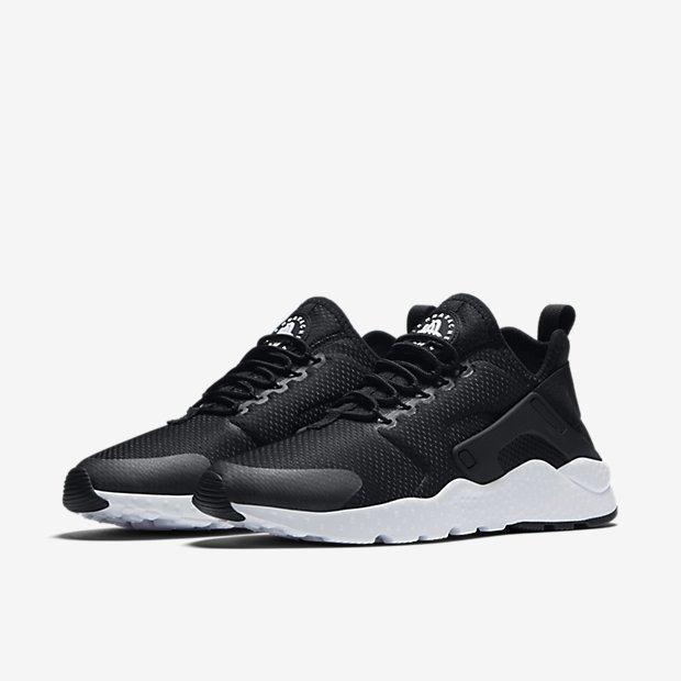 642f69a5c1c66f92340c34cc02afe040 - NIKE W AIR HUARACHE RUN ULTRA 二代武士 黑白 慢跑鞋 情侶鞋 819151-008