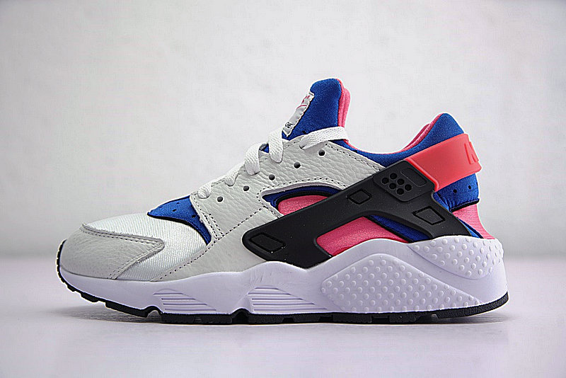 6797214312834c694a50d79df8322611 - 情侶鞋 Nike Air Huarache Run OG初代華萊士復古慢跑鞋 OG白藍桃粉 AH8049-100-