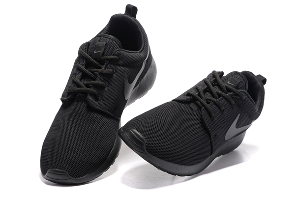 6a566c4940464f4a3a0a560f7cb65d25 - NIKE ROSHE ONE 844994 全黑 細網 情侶鞋
