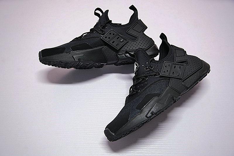 6fab2c21851a51786dd1a9d079863add - 男鞋 Nike Air Huarache Drift Prm 華萊士 漂移6代 復古花樣網面軍全黑 AH7334-003