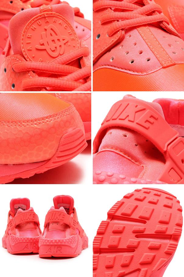 70e1758e7038cded9dc1b2c6d351fe5b - Wmns Air Huarache run Prm 全紅武士 鱷魚紋 女鞋 683818-800