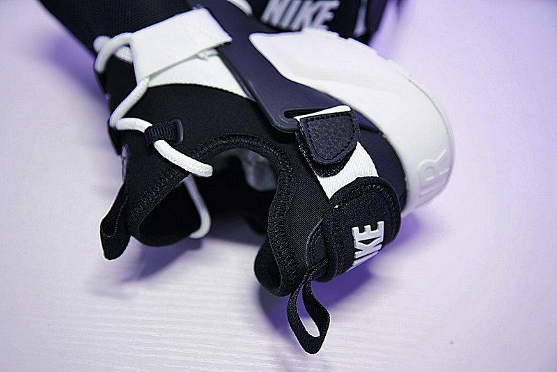 729e8ace0f23ac88e6805fee38b7e144 - 情侶鞋 Nike Air Huarache City Low 機能 百搭 慢跑鞋 黑白 AH6804-002