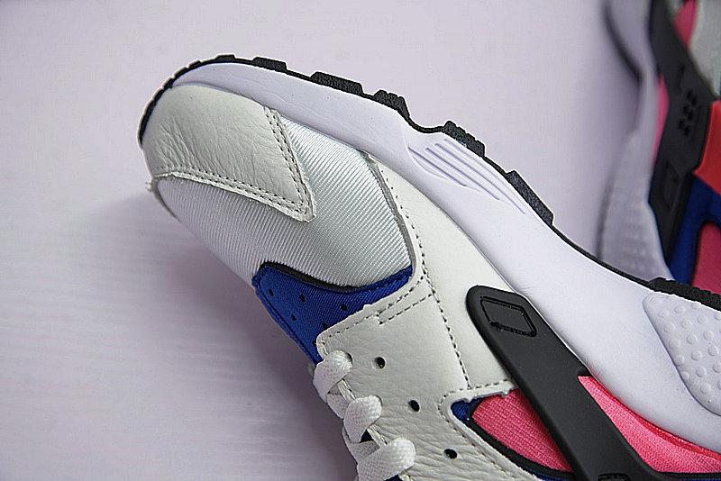 867fc03f3b9ae927f7b5d7d90aa6a2d4 - 情侶鞋 Nike Air Huarache Run OG初代華萊士復古慢跑鞋 OG白藍桃粉 AH8049-100-