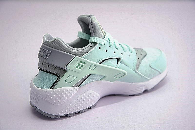 875de38d0b5680c00857a923f1b3a126 - Nike Air Huarache Run Premium 華萊士 綠灰 女款