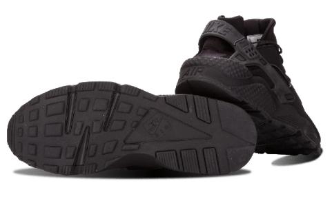 8c860400aea1327602b5d6bb0066f7bb - Nike Air Huarache All Black 情侶鞋318429 003