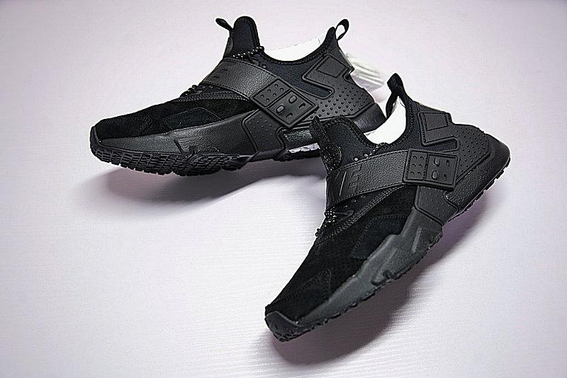 93cd8e59ef8a5fd53d0df5cd024eca2b - Nike Air Huarache Drift Prm 華萊士 6代 全黑 男鞋 AH7335-001