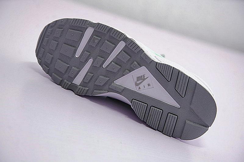 9659c8feac646a03ececbf44b0709721 - Nike Air Huarache Run Premium 華萊士 綠灰 女款