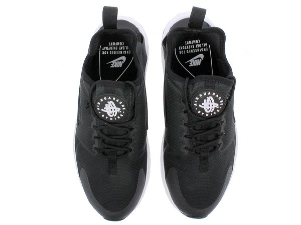 ad7d0a620bb136151512bf967705ad3c - NIKE W AIR HUARACHE RUN ULTRA 二代武士 黑白 慢跑鞋 情侶鞋 819151-008